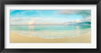 Waves on the beach, Seven Mile Beach, Grand Cayman, Cayman Islands Fine-Art Print