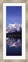 Reflection of Mt Shuksan, Picture Lake, North Cascades National Park, Washington State (vertical) Fine-Art Print