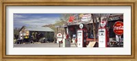 Gas Station on Route 66, Hackberry, Arizona Fine-Art Print