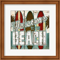 Welcome to the Beach Fine-Art Print