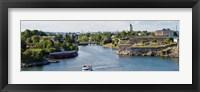 Fortress at the waterfront, Suomenlinna, Helsinki, Finland Fine-Art Print