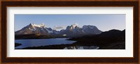 Lake Pehoe in Torres Del Paine National Park, Patagonia, Chile Fine-Art Print