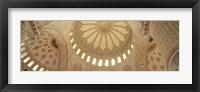 Interiors of a Blue Mosque, Istanbul, Turkey Fine-Art Print