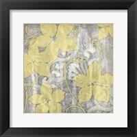 Yellow & Gray I Fine-Art Print