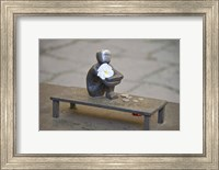Close-up of Iron Boy statue, Gamla Stan, Stockholm, Sweden Fine-Art Print