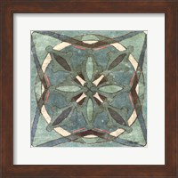 Tuscan Tile Blue Green II Fine-Art Print