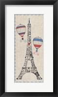 Paris from Above Fine-Art Print