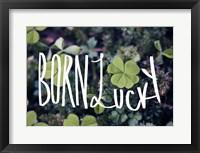Born Lucky Fine-Art Print