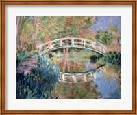 The Japanese Bridge, Giverny, 1892 Fine-Art Print