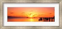 Ocean sunset Bahamas Fine-Art Print