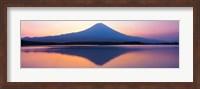 Mt Fuji reflection in a lake, Shizuoka Japan Fine-Art Print