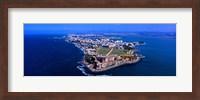 Aerial view of the Morro Castle, San Juan, Puerto Rico Fine-Art Print