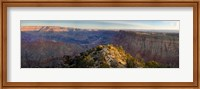 High angle view of Desert Point, South Rim, Grand Canyon, Grand Canyon National Park, Arizona, USA Fine-Art Print