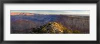 High angle view of Desert Point, South Rim, Grand Canyon, Grand Canyon National Park, Arizona, USA Fine-Art Print