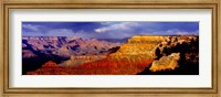 Spectators at the Grand Canyon, Grand Canyon, Grand Canyon National Park, Arizona, USA Fine-Art Print