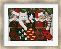 Christmas Kittens Fine-Art Print