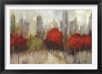Downtown Red Fine-Art Print