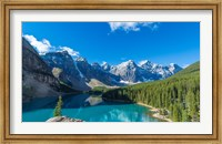 Moraine Lake at Banff National Park in the Canadian Rockies near Lake Louise, Alberta, Canada Fine-Art Print