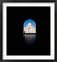Mausoleum viewed through an arch, Taj Mahal, Agra, Uttar Pradesh, India Fine-Art Print