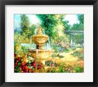 The Garden Fountain Fine-Art Print