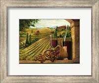 Vineyard Window Fine-Art Print