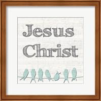 Jesus Christ Birds Fine-Art Print