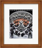Los Angeles Kings 2014 Stanley Cup Champions Composite Fine-Art Print