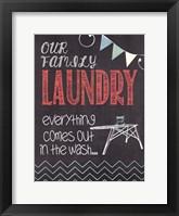 Family Laundry Fine-Art Print