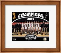 San Antonio Spurs 2014 NBA Champions Team Photo Fine-Art Print