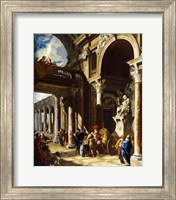 Alexander the Great Cutting the Gordian Knot Fine-Art Print