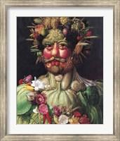 Holy Roman Emperor Rudolf II as Vertumnus Fine-Art Print