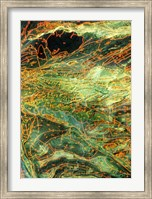 Geological map, Museum of Natural Science, Texas Fine-Art Print