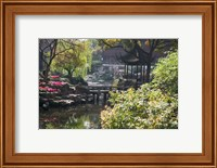Landscape of Traditional Chinese Garden, Shanghai, China Fine-Art Print