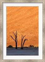 Namibia, Namib-Naukluft, Sossusvlei Desert, Dead Vlei Fine-Art Print