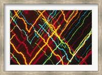 V-Shaped Neon Colors and Lighting with Nightzoom Fine-Art Print
