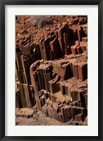 Organ Pipes rock formation, Damaraland, Namibia, Africa. Fine-Art Print