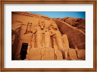 Statues, The Greater Temple, Abu Simbel, Egypt Fine-Art Print