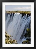 Victoria Waterfalls, Zambesi River, Zambia. Fine-Art Print