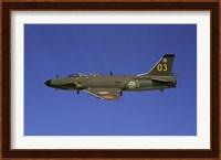 Saab J 32 Lansen fighter Fine-Art Print