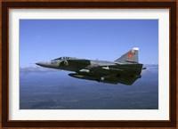 Saab JA 37 Viggen fighter of the Swedish Air Force Fine-Art Print