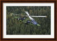 AgustaWestland A109 helicopter of the Swedish Air Force Fine-Art Print