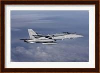 Side view of F-18 Hornet Fine-Art Print