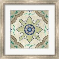 Santorini Tile I Fine-Art Print