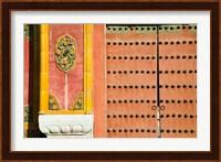 Inner Courtyard doors, The Forbidden City, Beijing, China Fine-Art Print