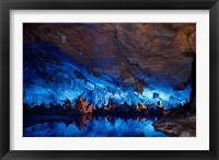 China, Guilin, Reed Flute Cave natural formations Fine-Art Print
