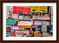 Neon Signs, Hong Kong, China Fine-Art Print