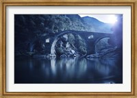 Dyavolski most arch bridge in the Rhodope Mountains, Ardino, Bulgaria Fine-Art Print