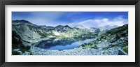View of Ribno Banderishko Lake in Pirin National Park, Bulgaria Fine-Art Print