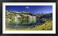 Ribno Banderishko Lake in Pirin National Park, Bansko, Bulgaria Fine-Art Print