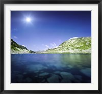 Okoto Lake in the Pirin Mountains, Pirin National Park, Bulgaria Fine-Art Print